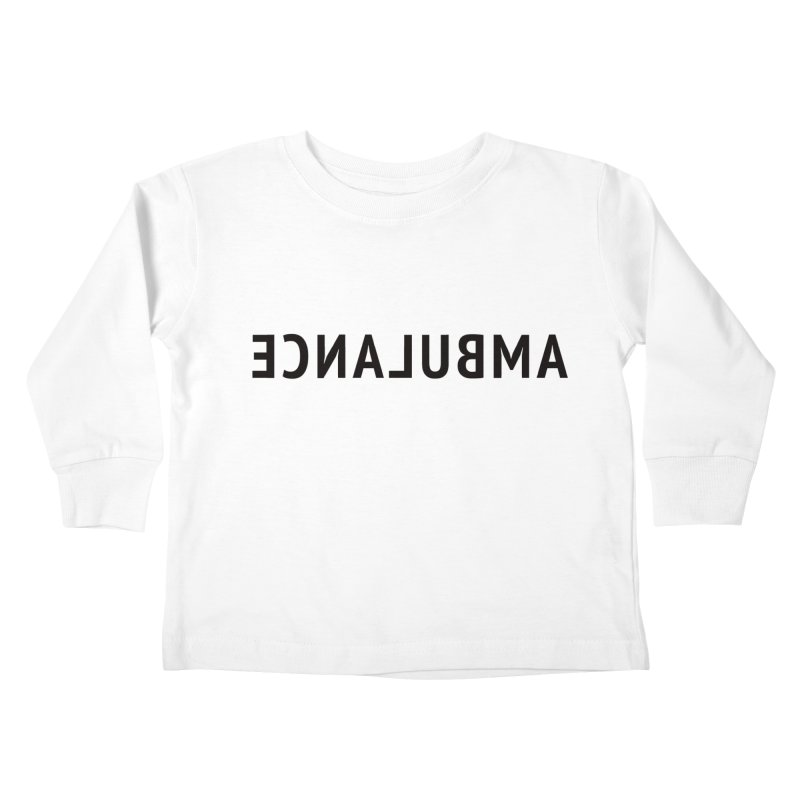 Ambulance Kids Toddler Longsleeve T-Shirt by Elefunfunt