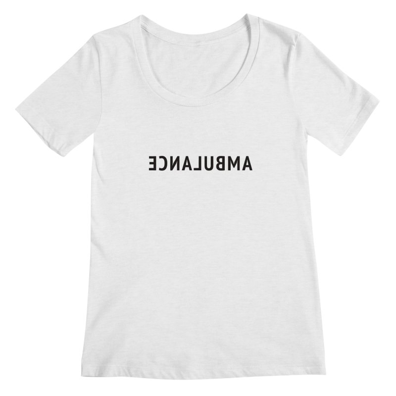 Ambulance Women's Regular Scoop Neck by Elefunfunt