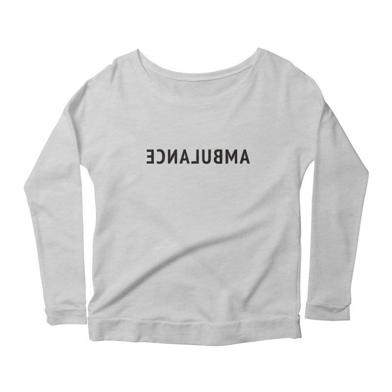 Ambulance Women's Scoop Neck Longsleeve T-Shirt by Elefunfunt