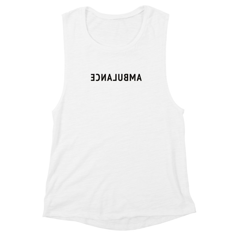 Ambulance Women's Muscle Tank by Elefunfunt