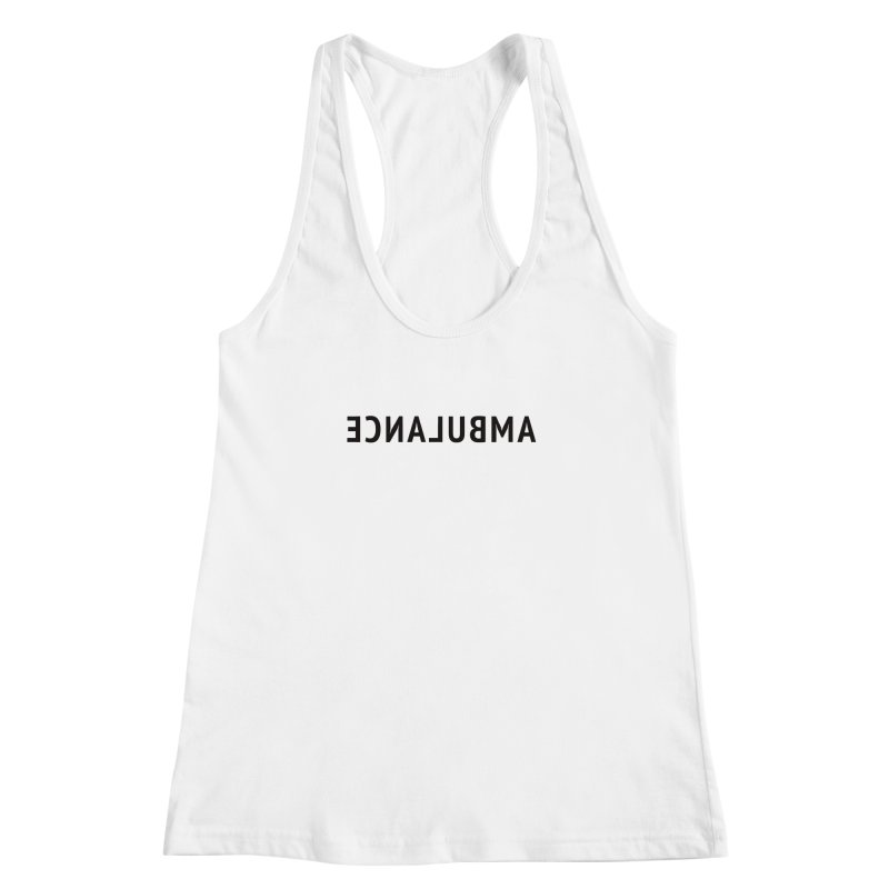 Ambulance Women's Racerback Tank by Elefunfunt