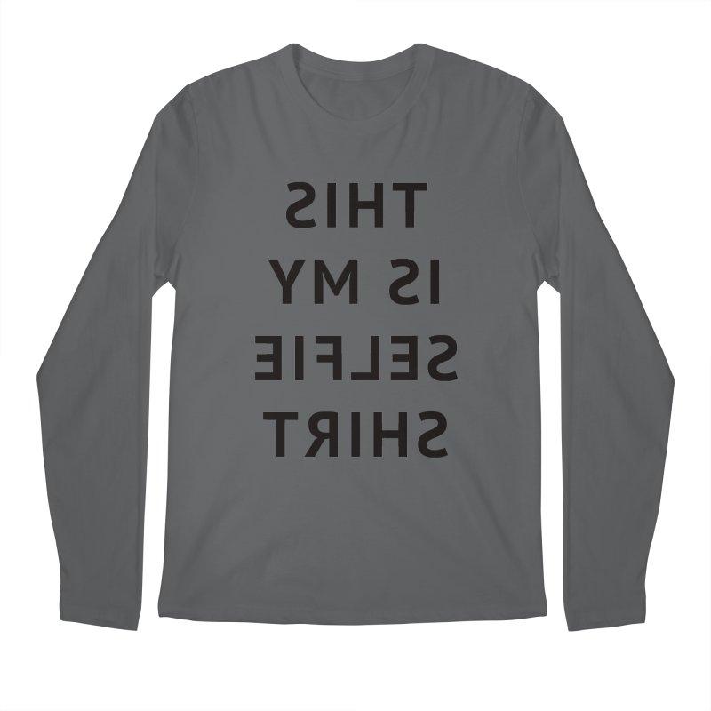 This Is My Selfie Shirt Men's Regular Longsleeve T-Shirt by Elefunfunt