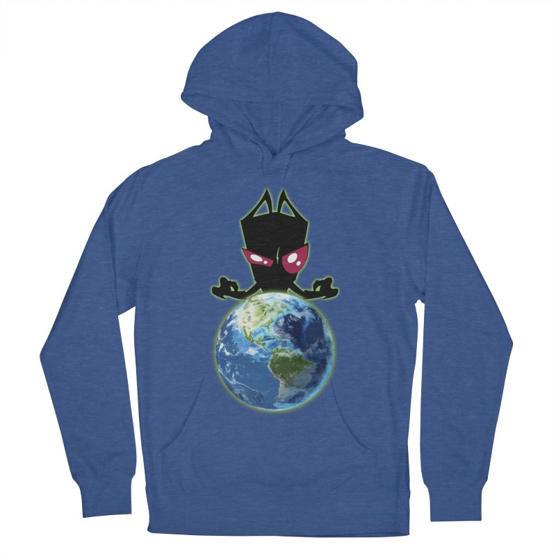 Invader from Planet Irk Women's French Terry Pullover Hoody by proxishdesigns's Artist Shop