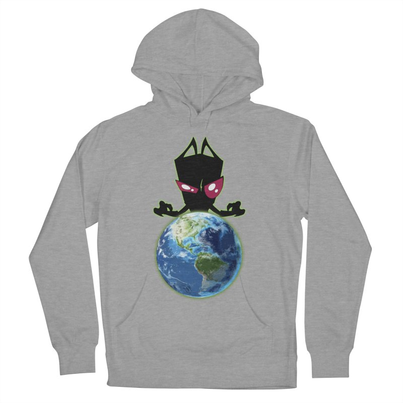 Invader from Planet Irk Women's Pullover Hoody by proxishdesigns's Artist Shop