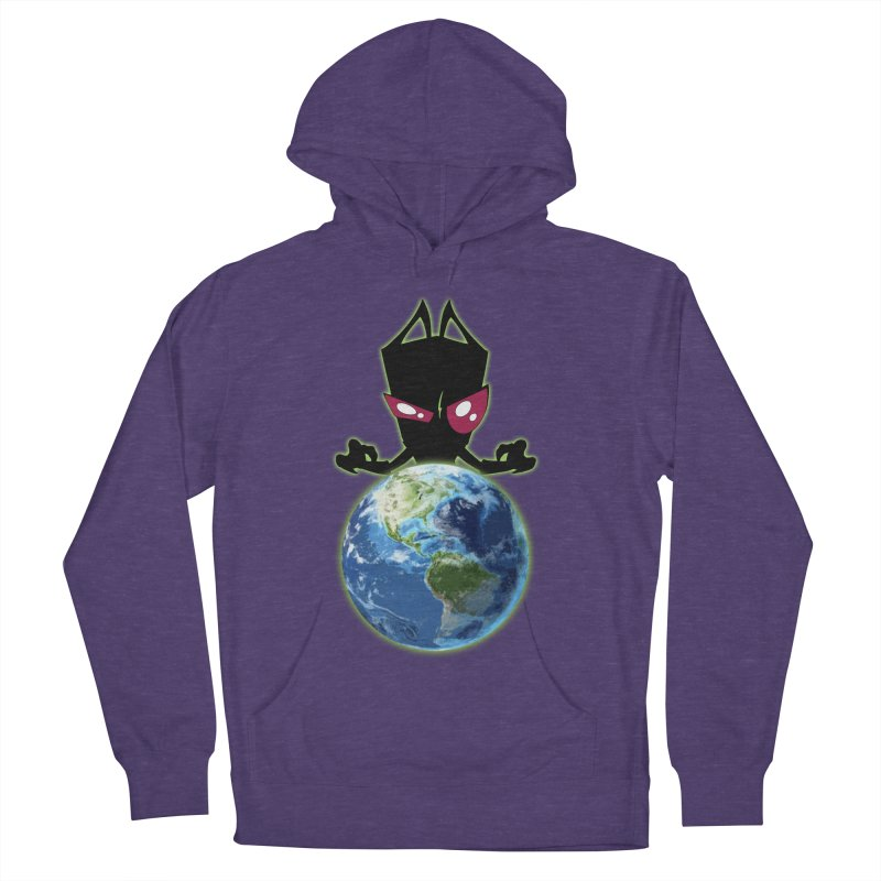 Invader from Planet Irk Men's Pullover Hoody by proxishdesigns's Artist Shop