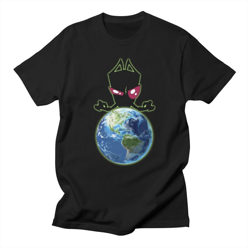 Invader from Planet Irk Men's T-shirt by proxishdesigns's Artist Shop