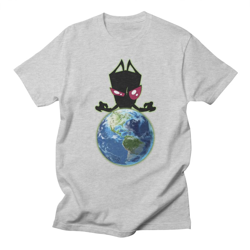 Invader from Planet Irk Men's Regular T-Shirt by proxishdesigns's Artist Shop