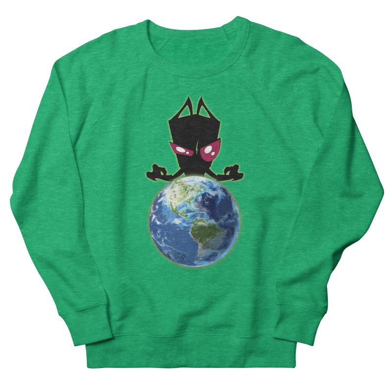 Invader from Planet Irk Women's Sweatshirt by proxishdesigns's Artist Shop
