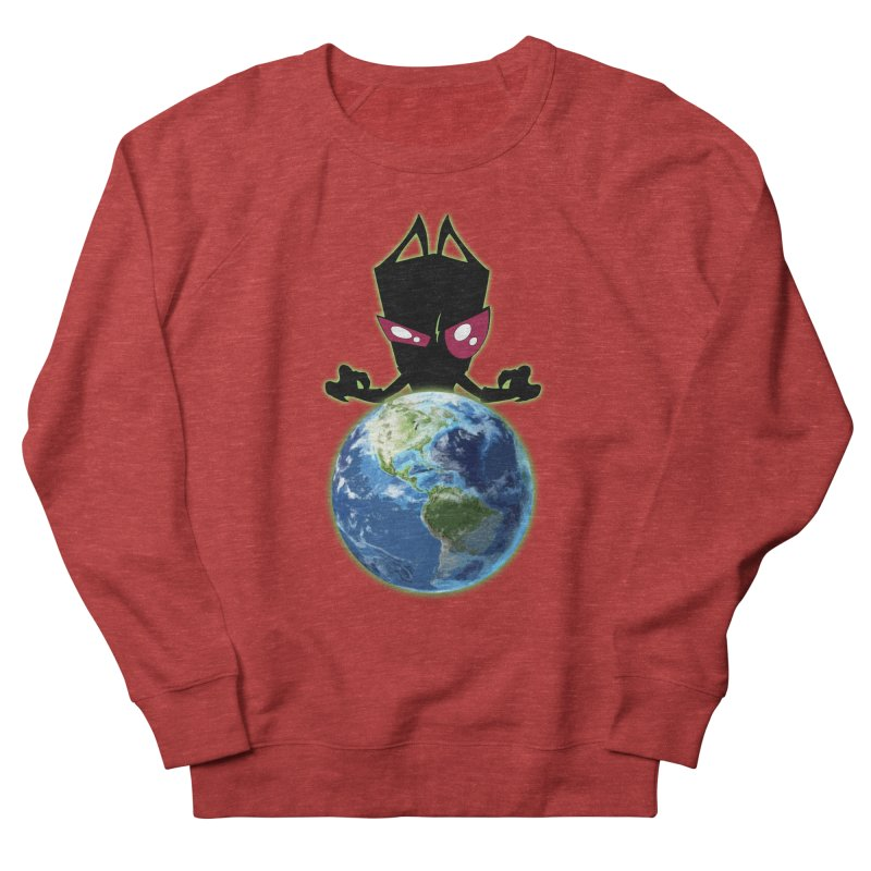 Invader from Planet Irk Women's French Terry Sweatshirt by proxishdesigns's Artist Shop