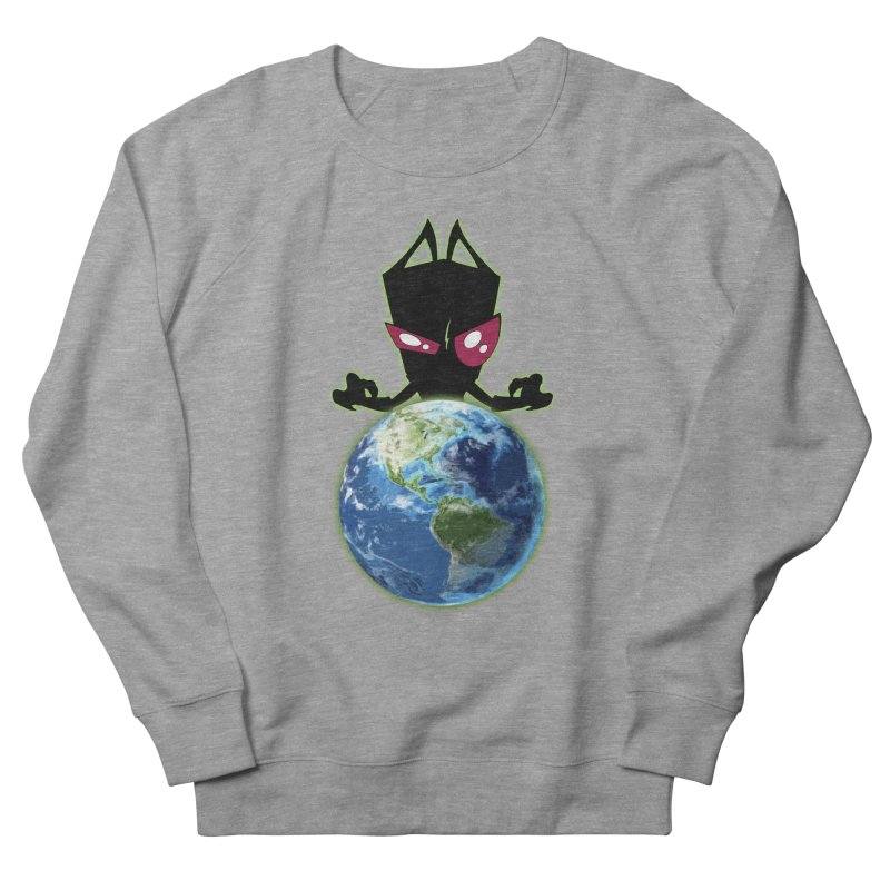 Invader from Planet Irk Men's French Terry Sweatshirt by proxishdesigns's Artist Shop