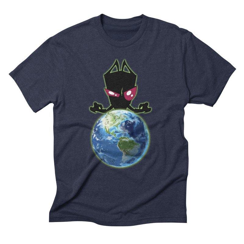 Invader from Planet Irk Men's Triblend T-Shirt by proxishdesigns's Artist Shop