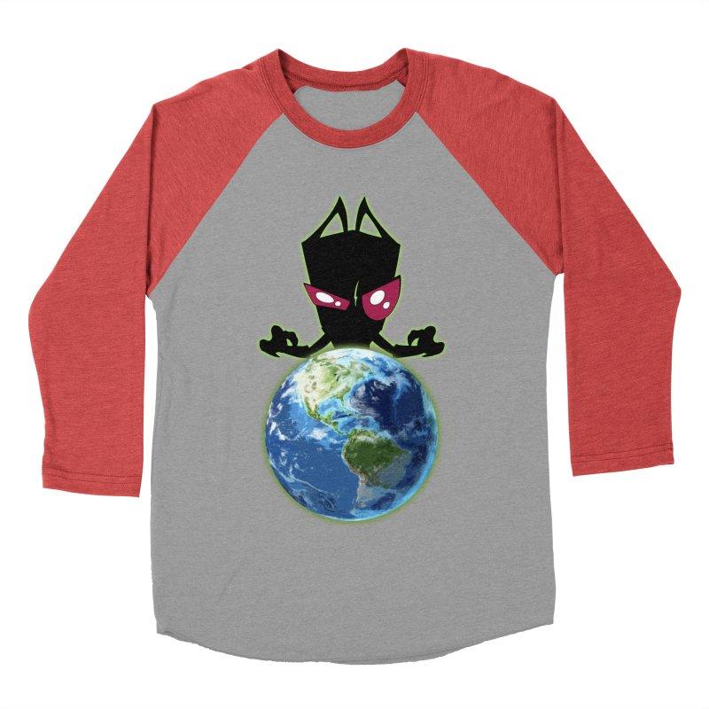 Invader from Planet Irk Women's Baseball Triblend T-Shirt by proxishdesigns's Artist Shop