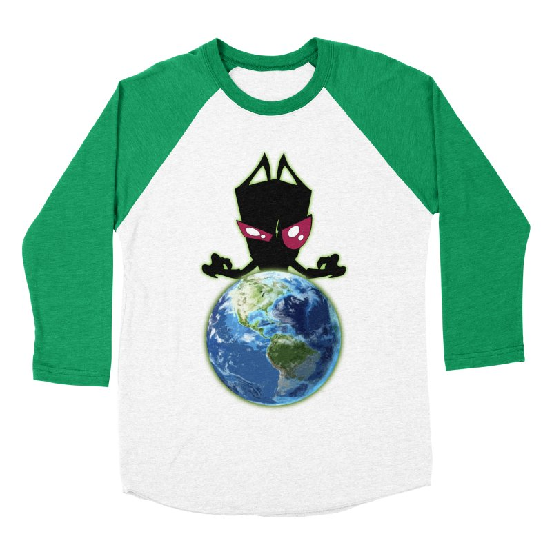 Invader from Planet Irk Men's Baseball Triblend T-Shirt by proxishdesigns's Artist Shop