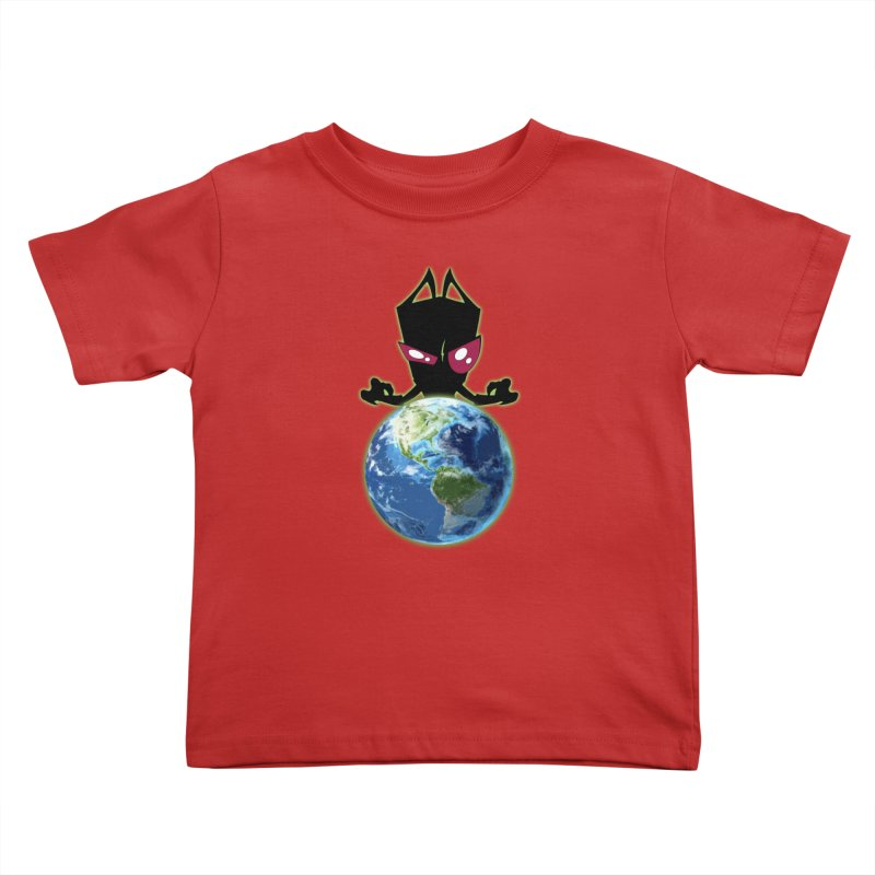 Invader from Planet Irk Kids Toddler T-Shirt by proxishdesigns's Artist Shop