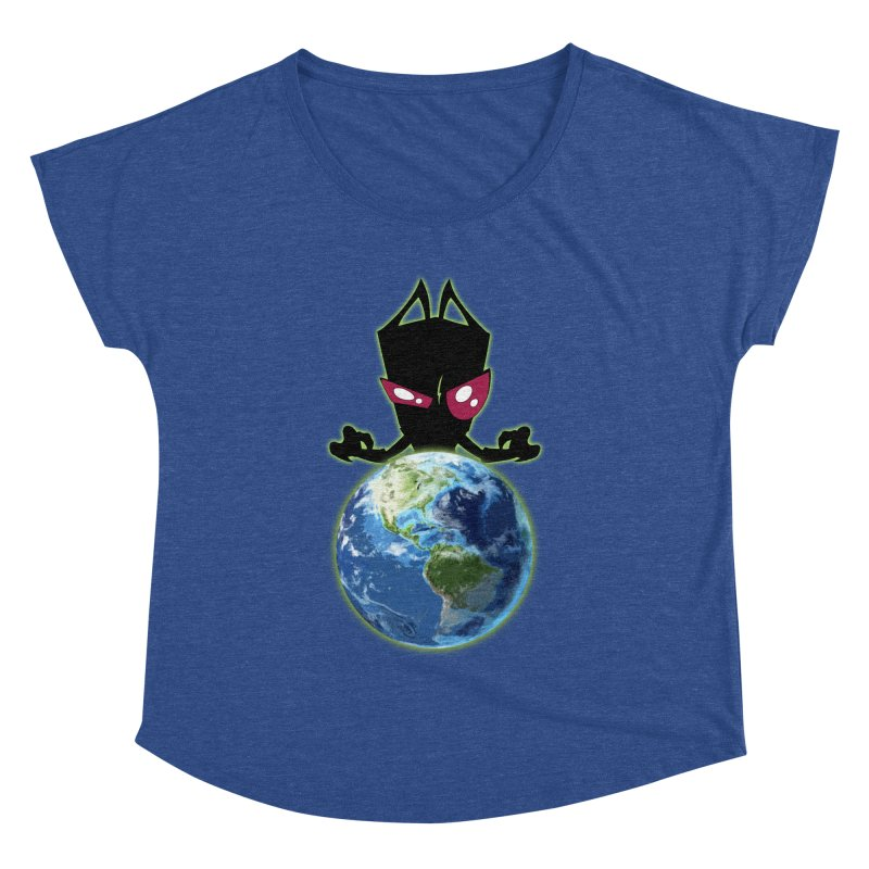 Invader from Planet Irk Women's Dolman by proxishdesigns's Artist Shop
