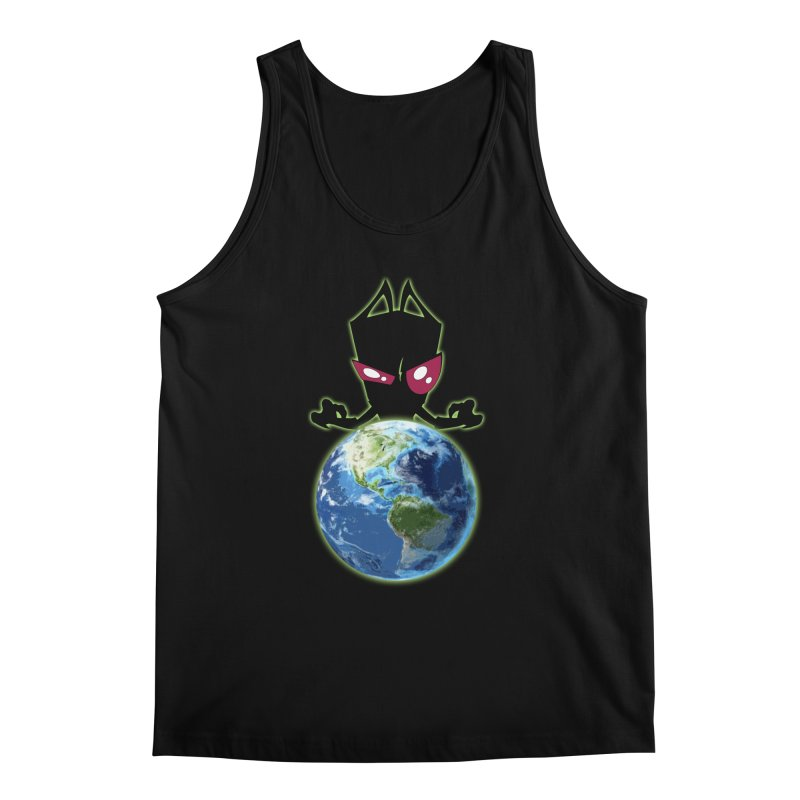 Invader from Planet Irk Men's Tank by proxishdesigns's Artist Shop