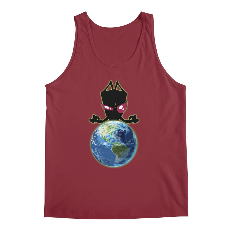 Invader from Planet Irk Men's Regular Tank by proxishdesigns's Artist Shop
