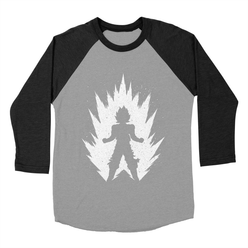 Saiyajin Goku Women's Baseball Triblend Longsleeve T-Shirt by proxishdesigns's Artist Shop