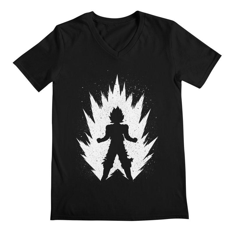 Saiyajin Goku Men's Regular V-Neck by proxishdesigns's Artist Shop