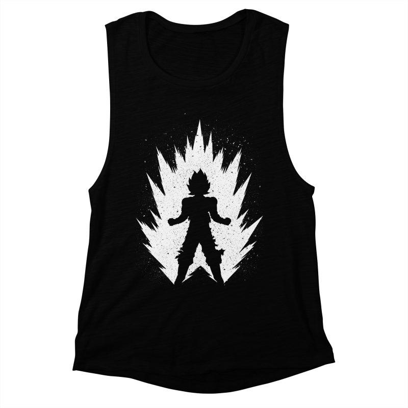 Saiyajin Goku Women's Muscle Tank by proxishdesigns's Artist Shop