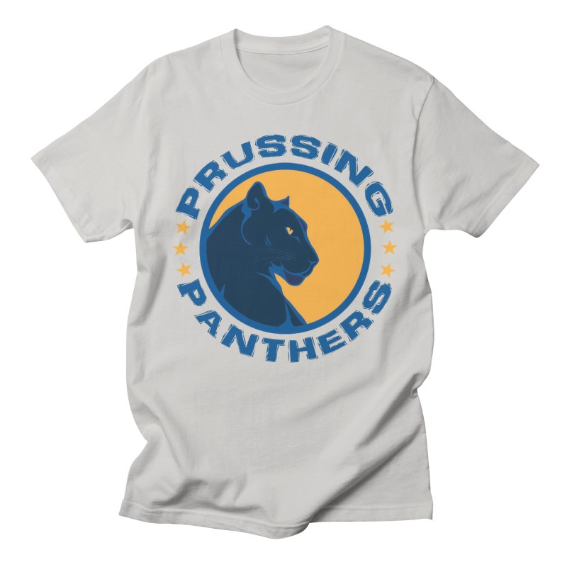 Prussing Panthers - Circular Text Men's T-Shirt by Prussing PTO's Spirit Shop