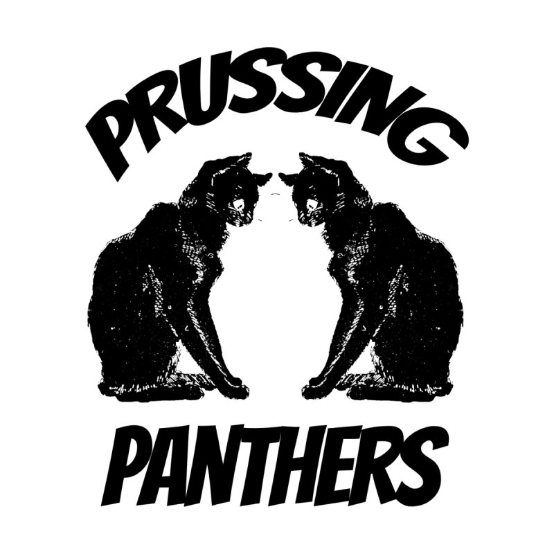 Prussing Panthers Cat Twins Men's T-Shirt by Prussing PTO's Spirit Shop