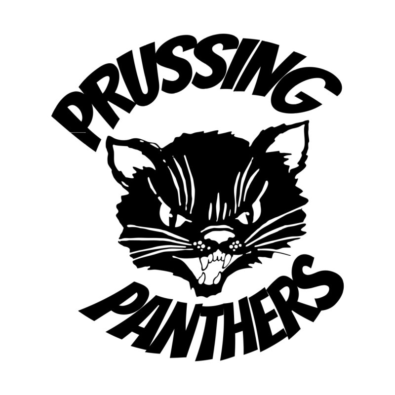 Prussing Panthers Angry Cat Men's T-Shirt by Prussing PTO's Spirit Shop