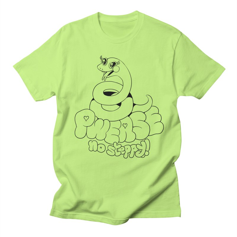 pwease no steppy! Men's Regular T-Shirt by Pseudonym Jones and the Amazing T-Shirt Caper