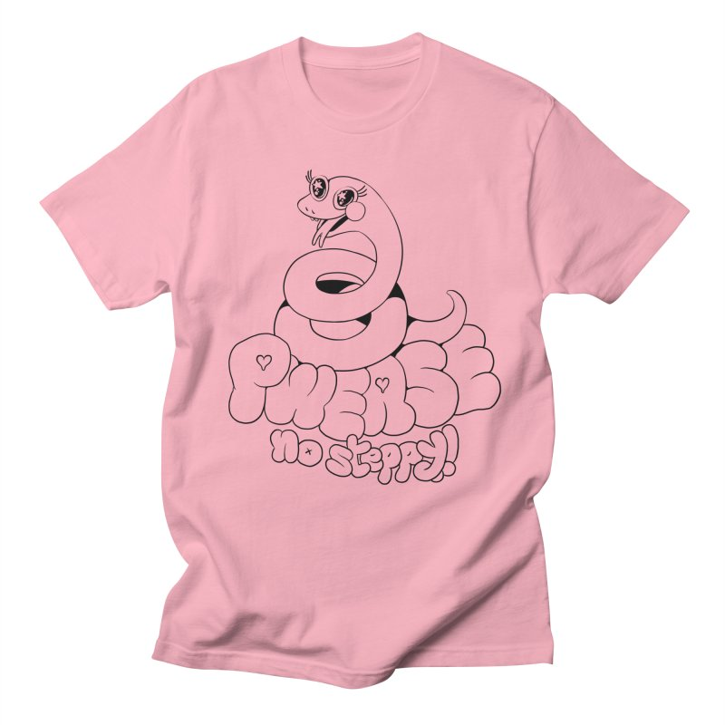 pwease no steppy! Men's T-Shirt by Pseudonym Jones and the Amazing T-Shirt Caper
