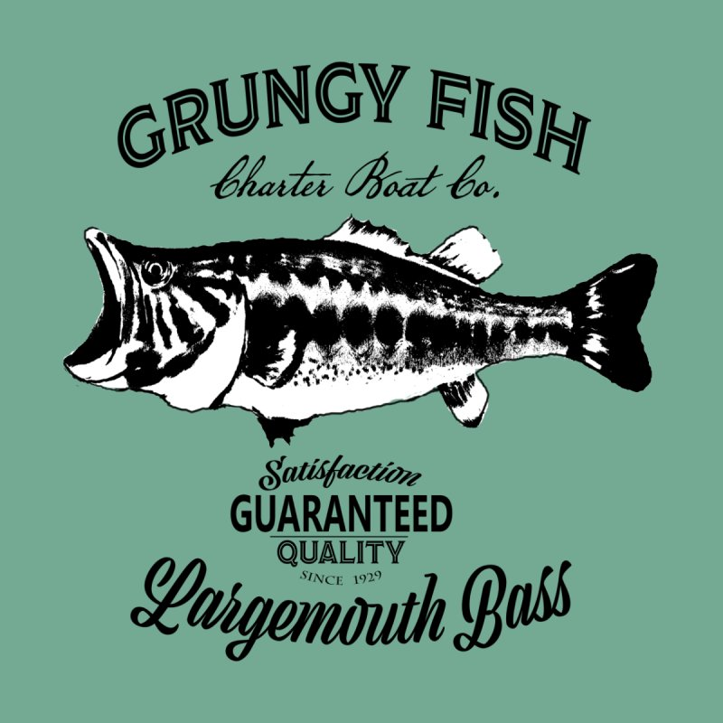 Grungy Fish by psweetsdesign's Artist Shop