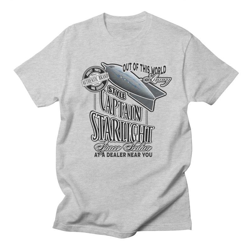 Space Sedan Men's Regular T-Shirt by psweetsdesign's Artist Shop