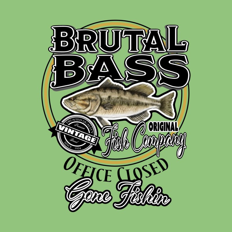 Brutal Bass Fish Co by psweetsdesign's Artist Shop