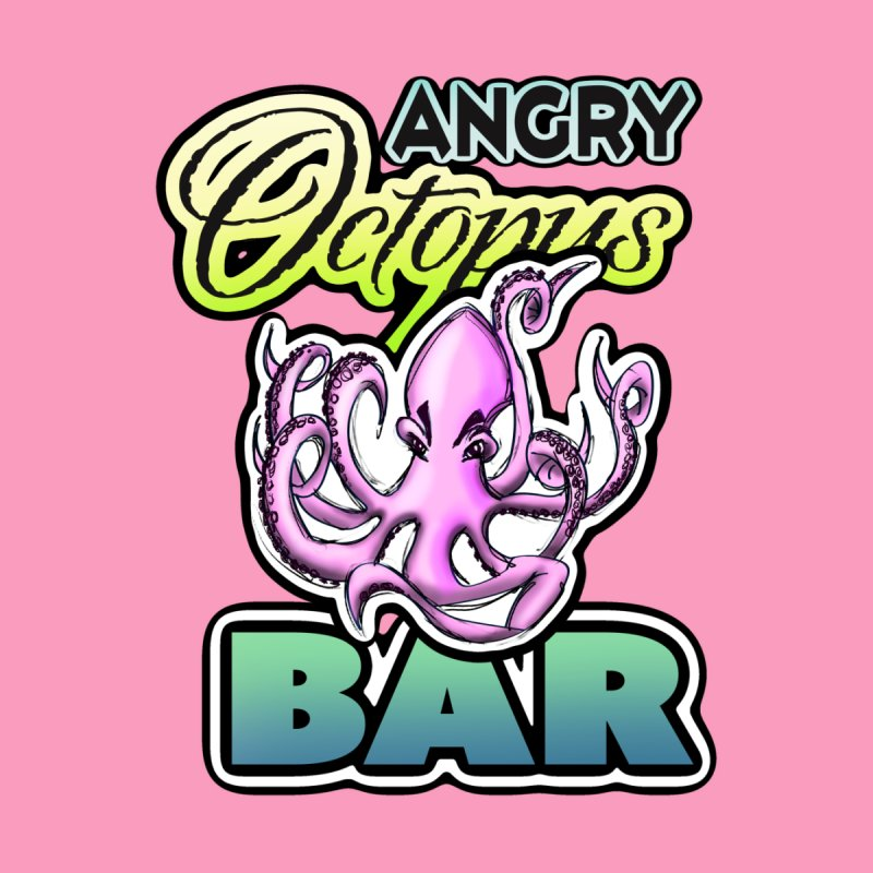 Angry Octopus Bar by psweetsdesign's Artist Shop