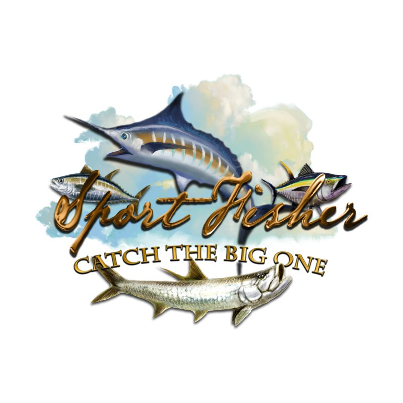 Catch The Big One None  by psweetsdesign's Artist Shop
