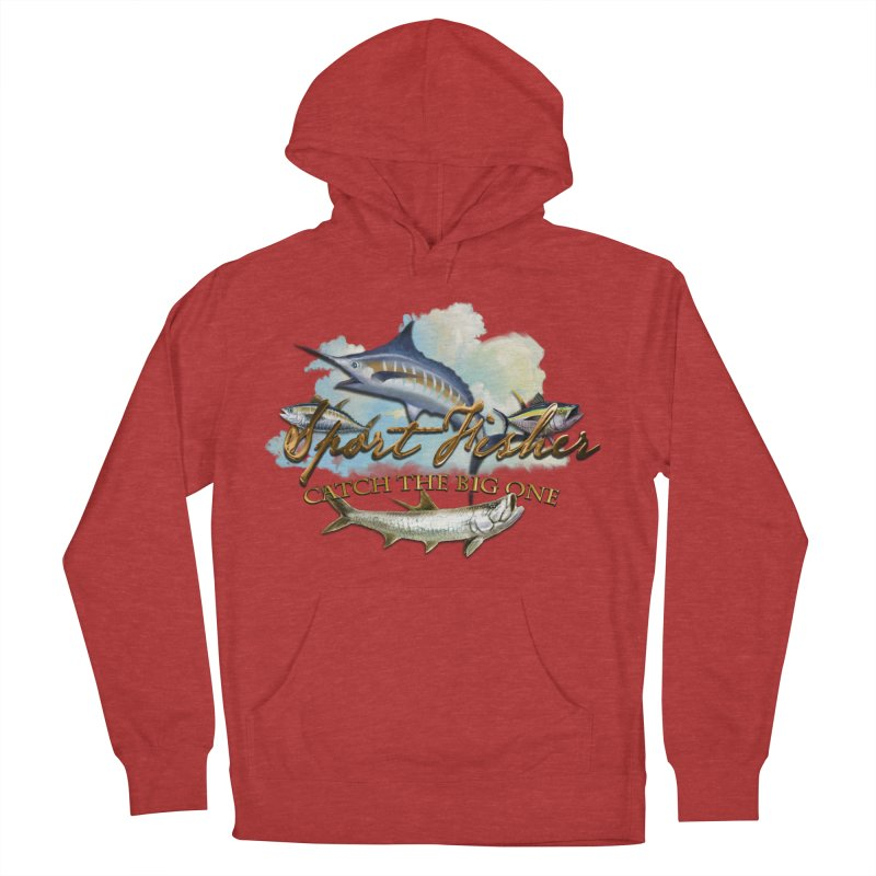 Catch The Big One Men's Pullover Hoody by psweetsdesign's Artist Shop