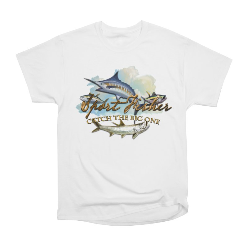 Catch The Big One Men's Classic T-Shirt by psweetsdesign's Artist Shop