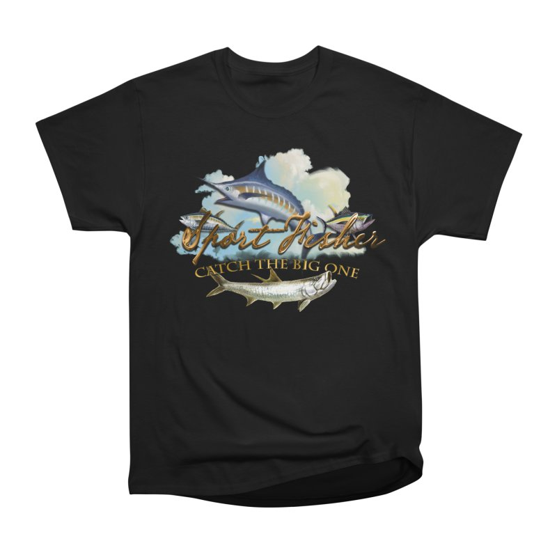 Catch The Big One Women's Classic Unisex T-Shirt by psweetsdesign's Artist Shop