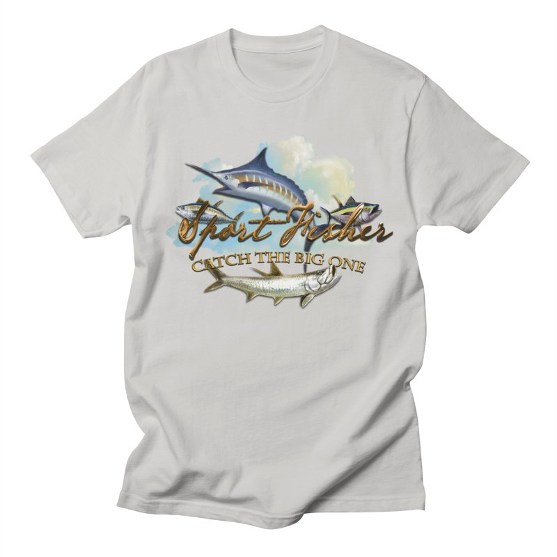Catch The Big One Women's Unisex T-Shirt by psweetsdesign's Artist Shop