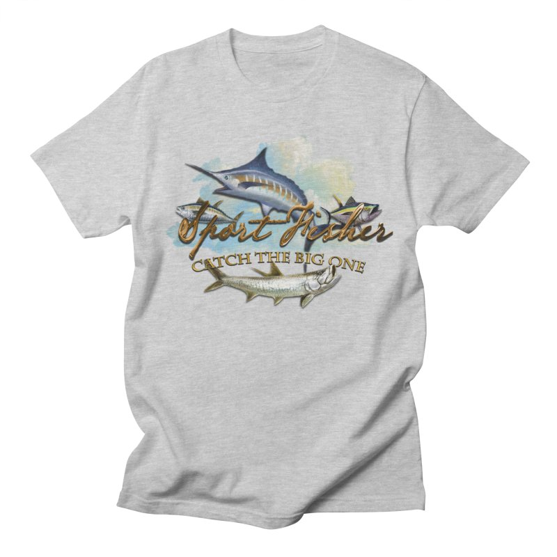 Catch The Big One Men's Regular T-Shirt by psweetsdesign's Artist Shop