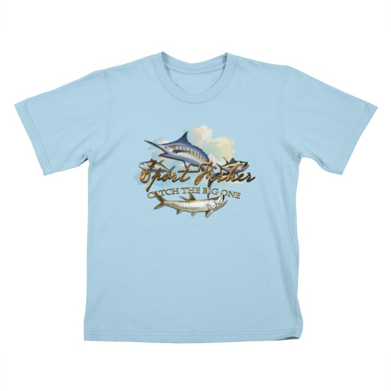 Catch The Big One Kids T-shirt by psweetsdesign's Artist Shop