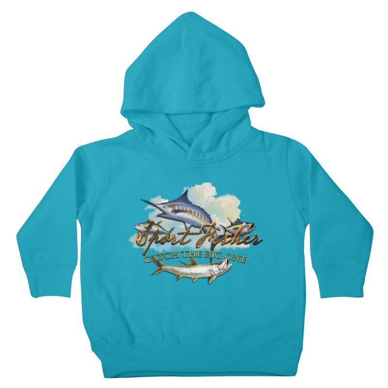 Catch The Big One Kids Toddler Pullover Hoody by psweetsdesign's Artist Shop
