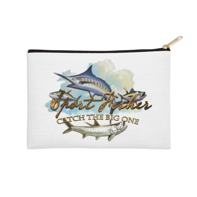 Catch The Big One Accessories Zip Pouch by psweetsdesign's Artist Shop