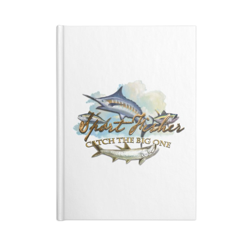 Catch The Big One Accessories Notebook by psweetsdesign's Artist Shop