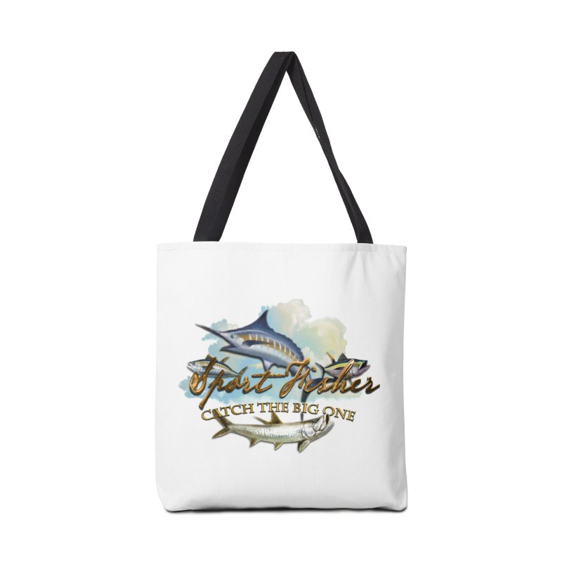 Catch The Big One Accessories Bag by psweetsdesign's Artist Shop