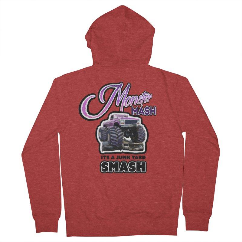 Monster Mash Men's Zip-Up Hoody by psweetsdesign's Artist Shop