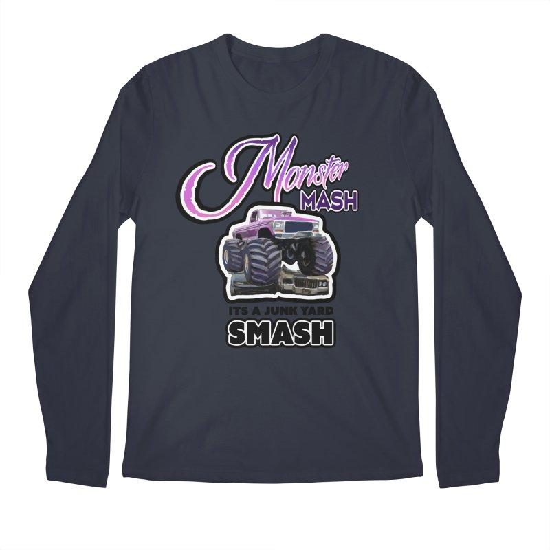 Monster Mash Men's Longsleeve T-Shirt by psweetsdesign's Artist Shop