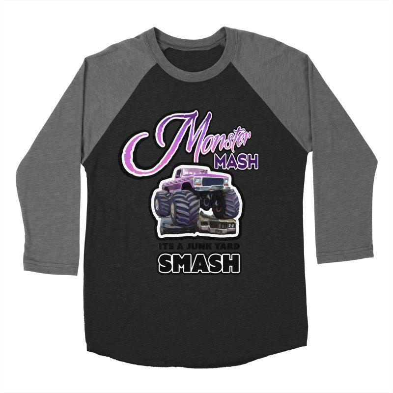 Monster Mash Women's Baseball Triblend T-Shirt by psweetsdesign's Artist Shop