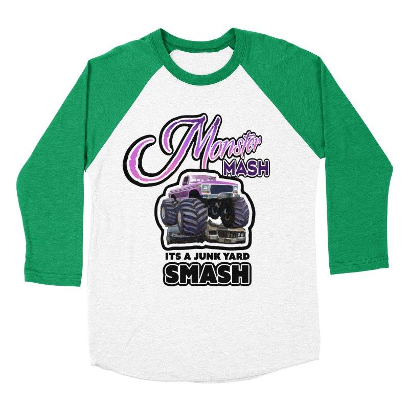 Monster Mash Men's Baseball Triblend T-Shirt by psweetsdesign's Artist Shop