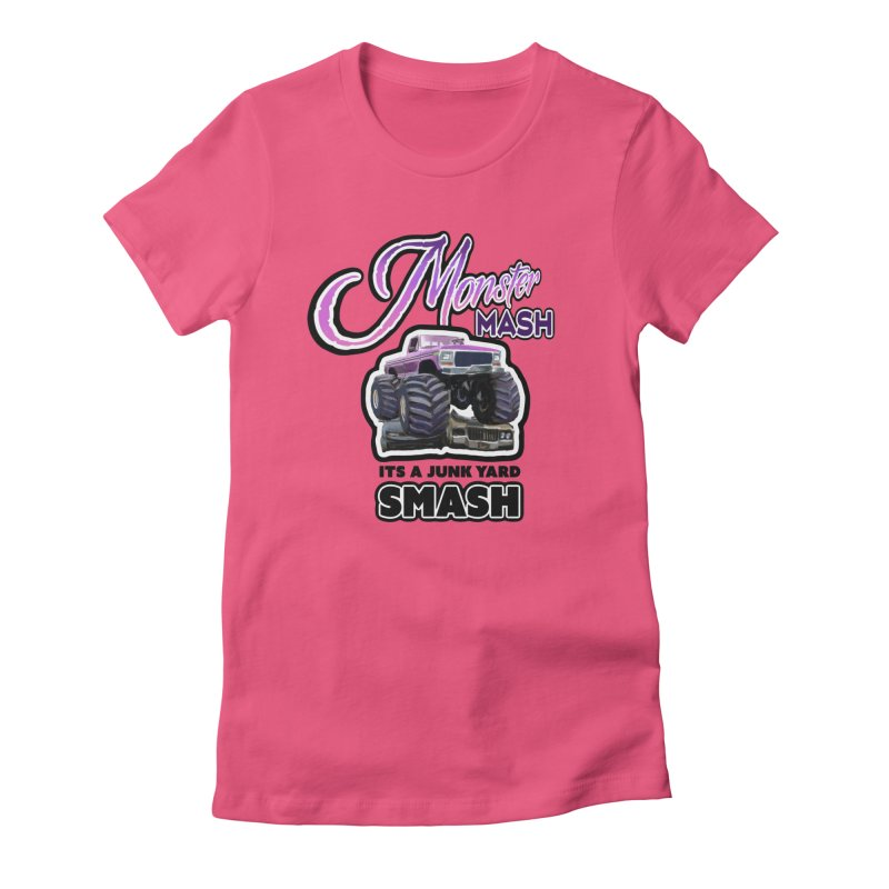 Monster Mash Women's Fitted T-Shirt by psweetsdesign's Artist Shop