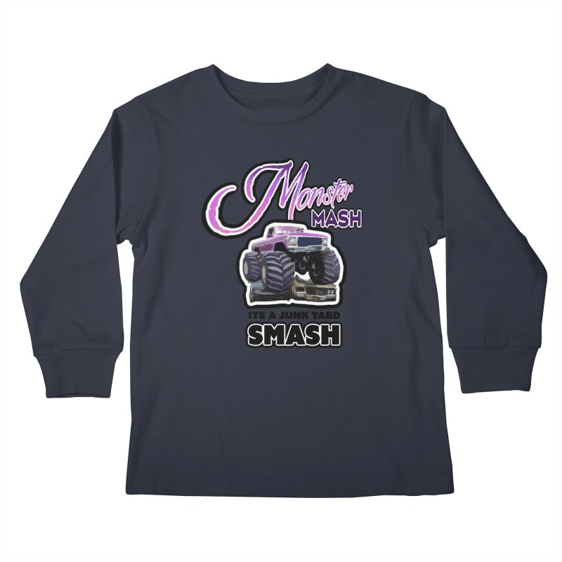 Monster Mash Kids Longsleeve T-Shirt by psweetsdesign's Artist Shop